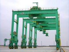 Rubber Tyre Container Gantry Cranes Inspection