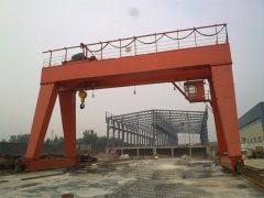 Gantry crane commissioning electrical prerequisite