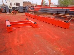 Double Girder Overhead Crane Deliver to Czech