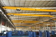 European Overhead Crane with Low Noise
