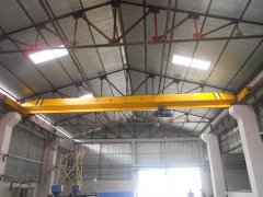 Electric single girder overhead crane Application