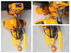 Electric chain hoist inspection