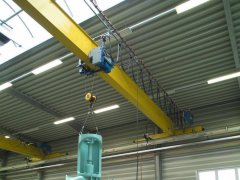 Overhead bridge crane inspection