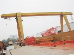 Daily maintenance of mobile gantry crane