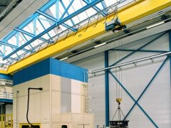 The electric overhead cranes test projects