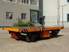 Towed Rail Transfer Cart