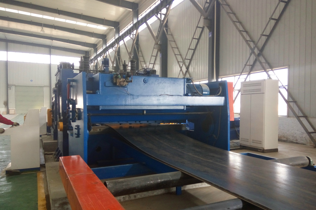 Steel Plate Stretch Machine